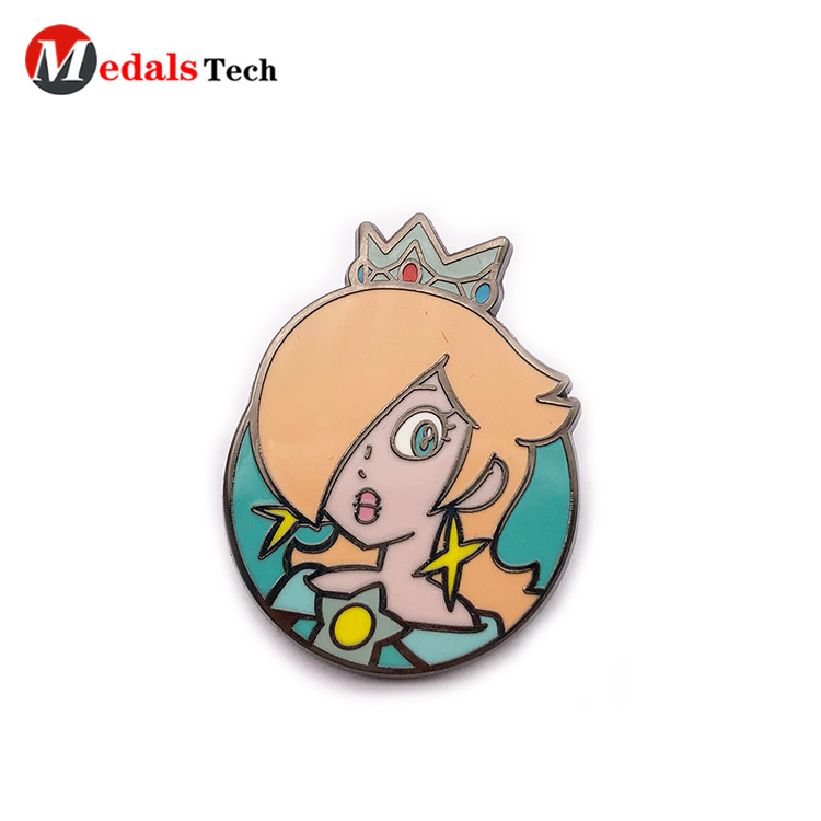Medals Tech alloy mens lapel pin design for woman-4