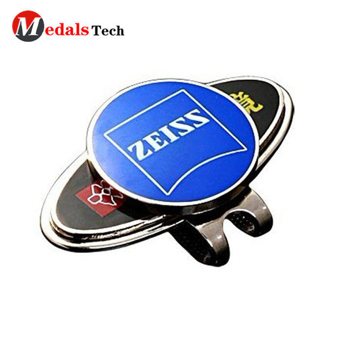 Medals Tech Custom golf cap clip supply for souvenir