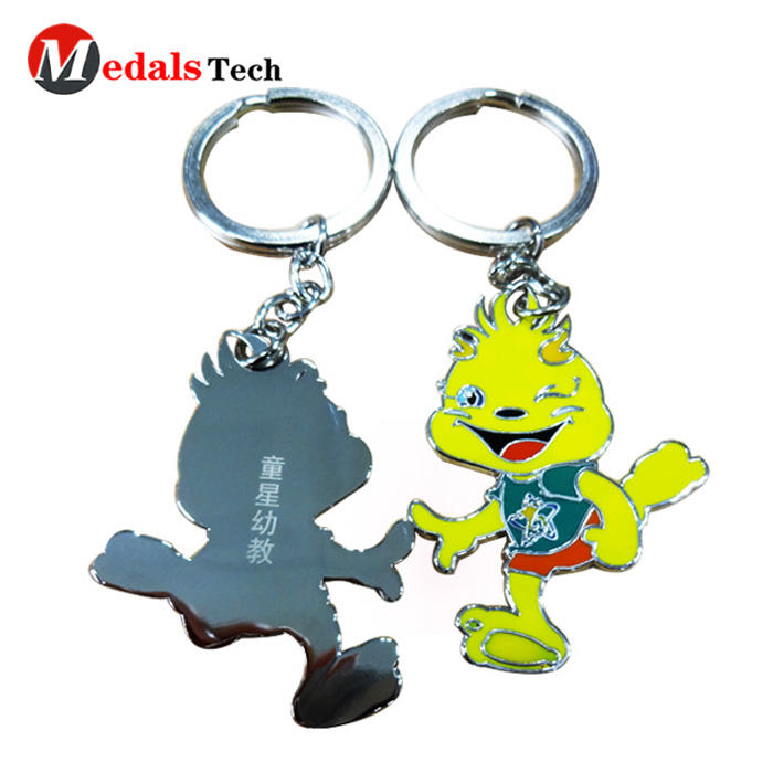 2019 promotional item black sublimation color filled card keychain