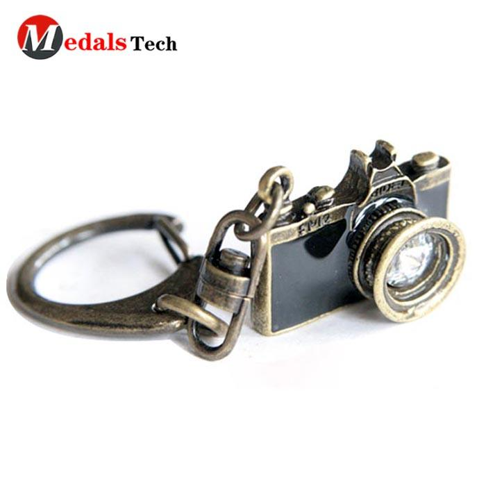 High quality custom zinc alloy  blank name metal  keychain