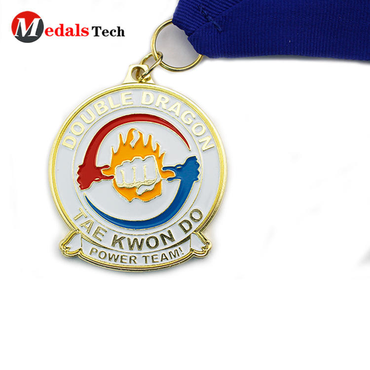 Promotional  enamel metal  make finisher sport award medals