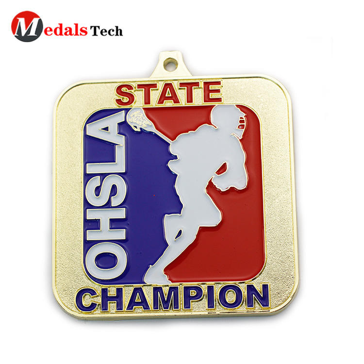 Cheap promotional custom finisher award old sports medals