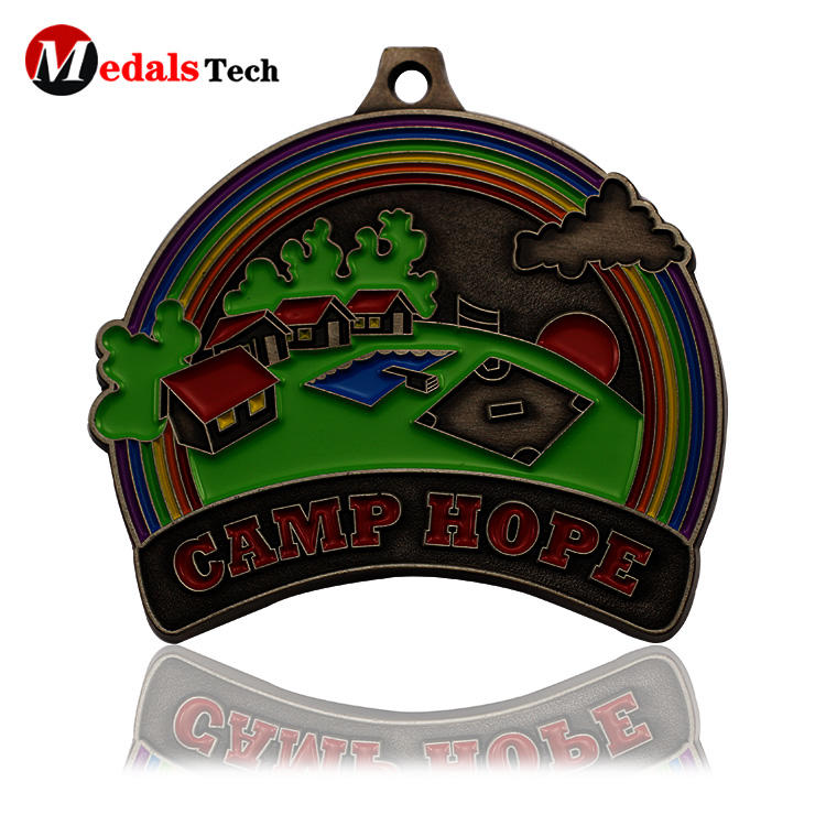 Custom funny gift medals for kids unique design