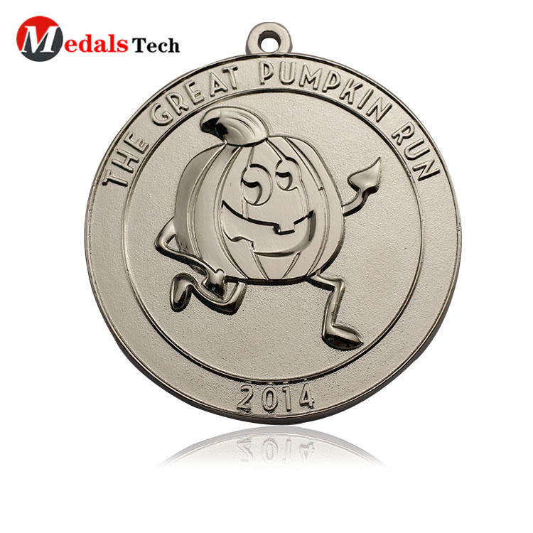 No minimum order color filled make metal  medallion medals