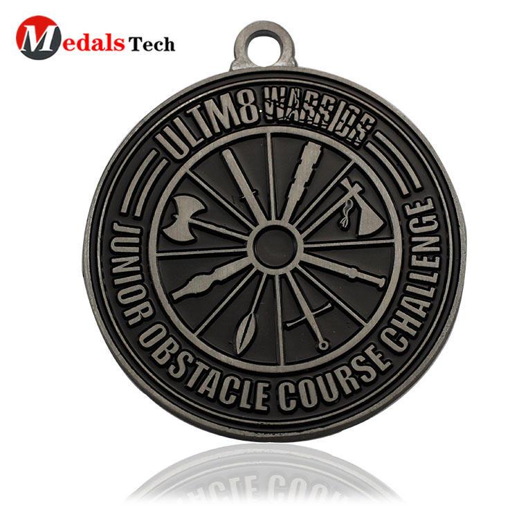 Custom logo keychains round shape souvenir
