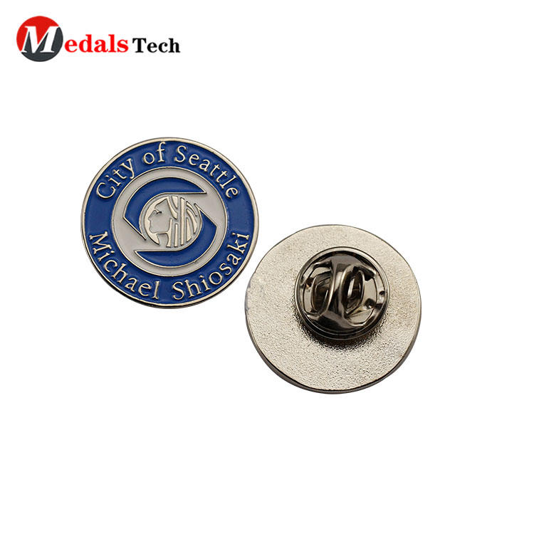 Quality lapel pins hot selling embossed sports pin