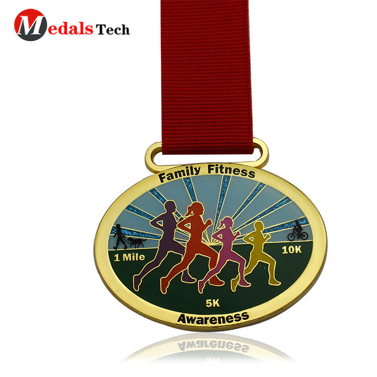 Custom medals with unique fruits logo souvenir