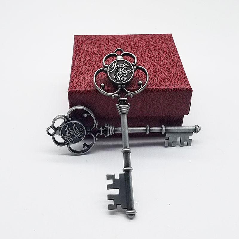 Amazon Popular Metal Santa Christmas Key as Family gifts