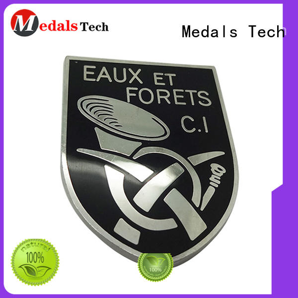 Medals Tech wholese metal name plates design for man