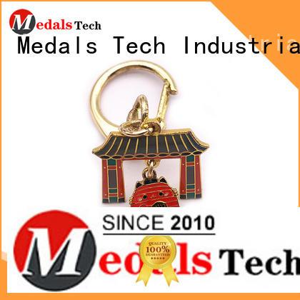 Medals Tech heart metal key ring manufacturer for souvenir
