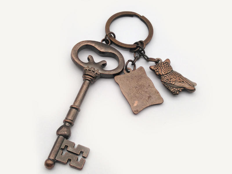 Medals Tech quality leather keychain from China for promotion-2