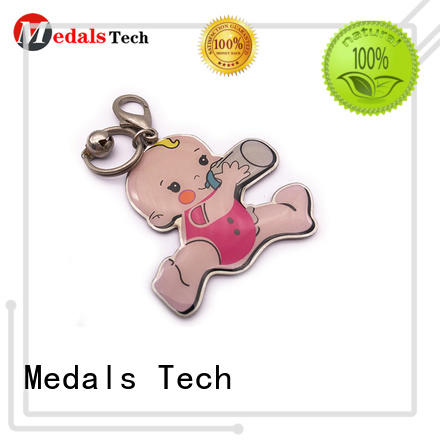 Medals Tech antique metal key ring series for commercial