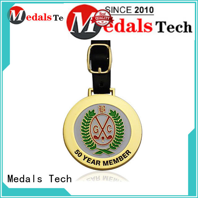 Medals Tech alloy personalized golf bag tags directly sale for adults
