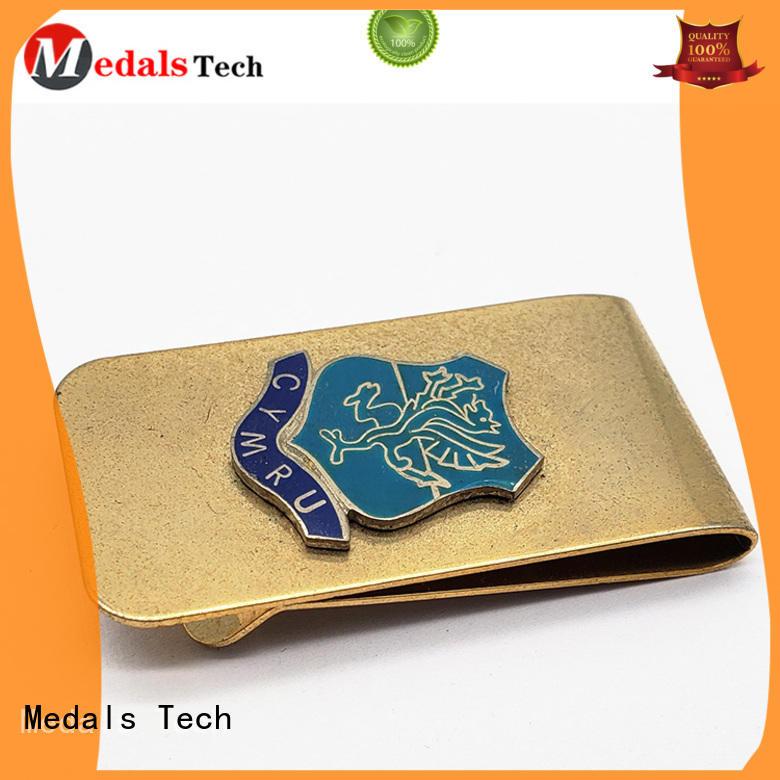 Money clip for man Medals Tech