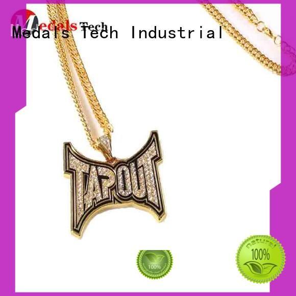 Cheap popular metal die casting shinny gold plating recessed logo dog tag