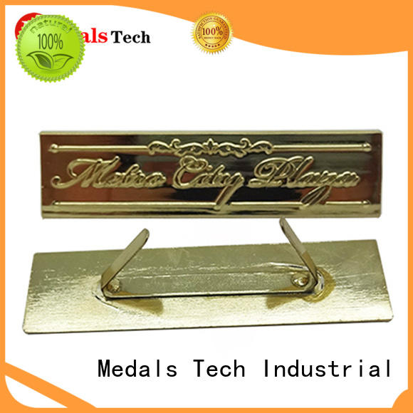 Medals Tech top quality custom name plates with good price for woman