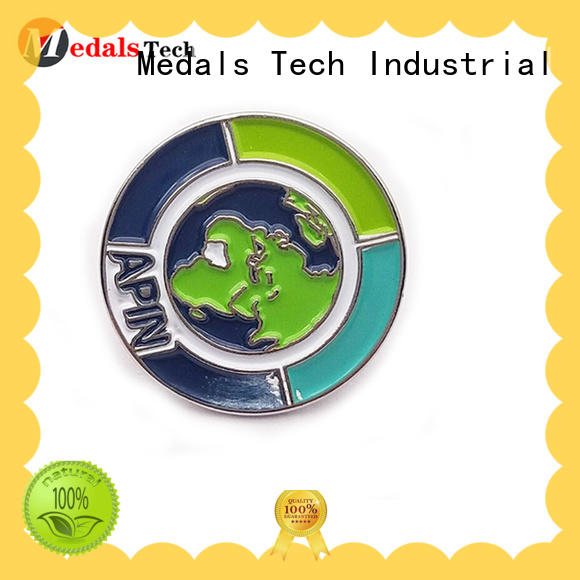 Medals Tech epoxy mens lapel pin inquire now for man