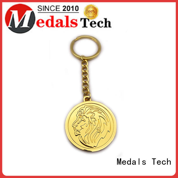 Medals Tech antique metal key ring series for adults