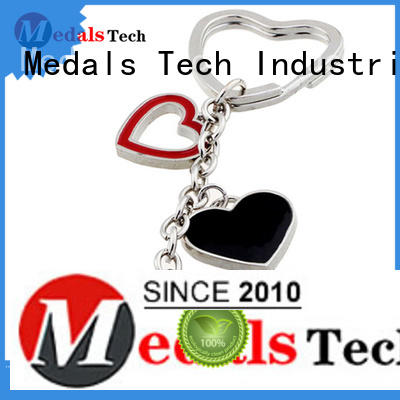 Medals Tech metal key ring manufacturer for woman