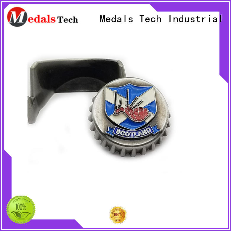 Medals Tech wall mount bottle opener from China for commercial