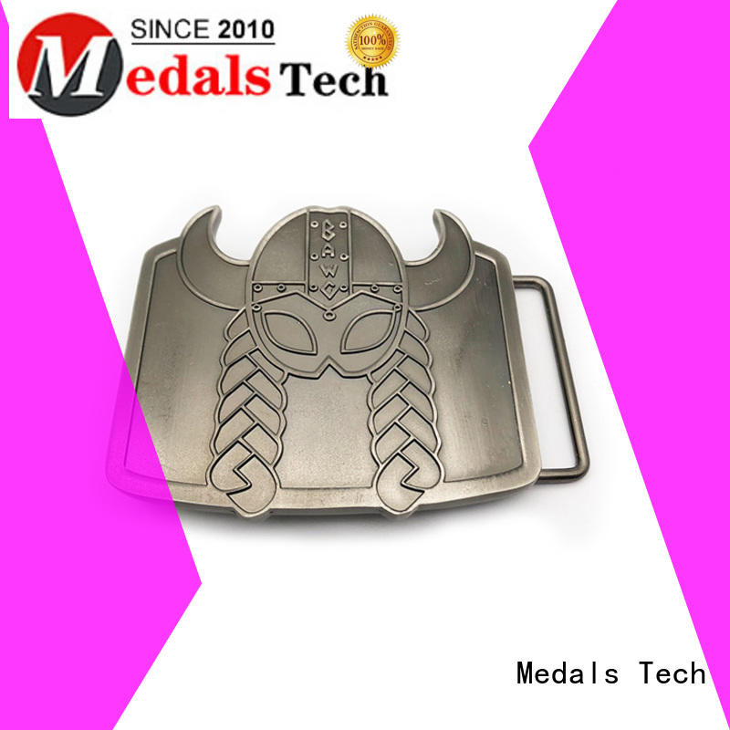 Medals Tech plated custom belt buckles factory price for man