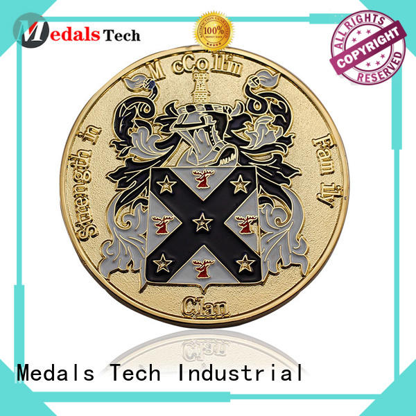 Medals Tech reliable seal challenge coin factory price for collection