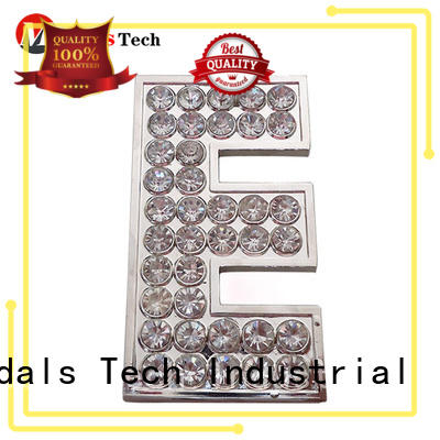 Medals Tech top quality metal name plates design for add on sale