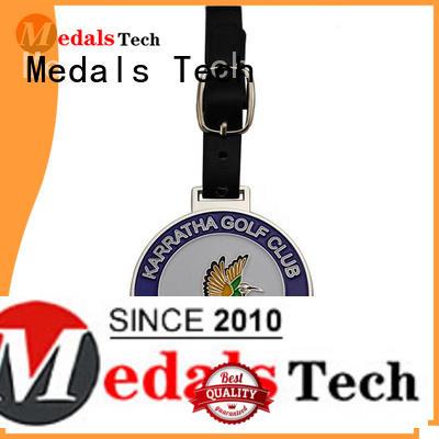 Medals Tech enamel custom golf bag tags customized for man