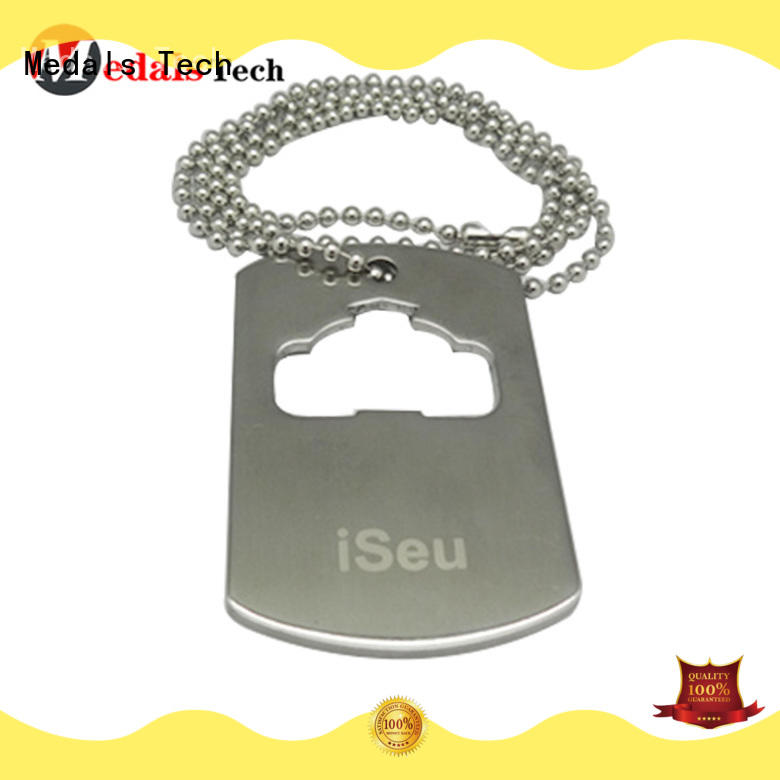 Medals Tech metal custom dog tag maker from China for adults