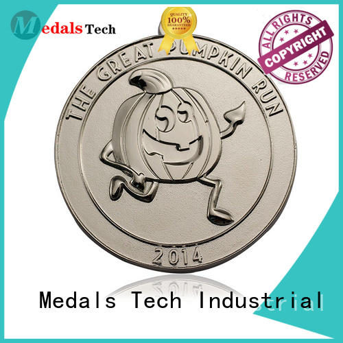 Medals Tech round best running medals personalized for add on sale