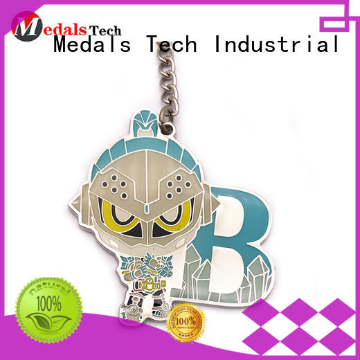 metal key keychain from China for commercial