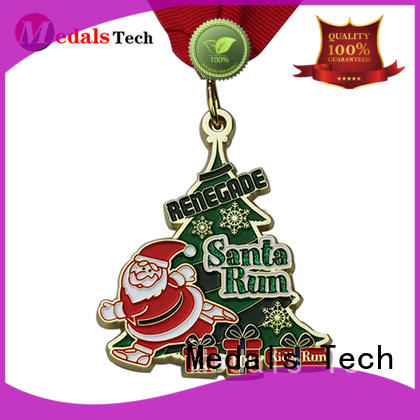 Medals Tech spinning metal medal personalized for promotion