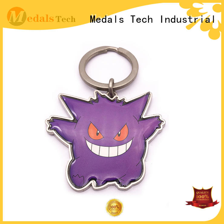 Medals Tech gold cool keychains for guys from China for commercial