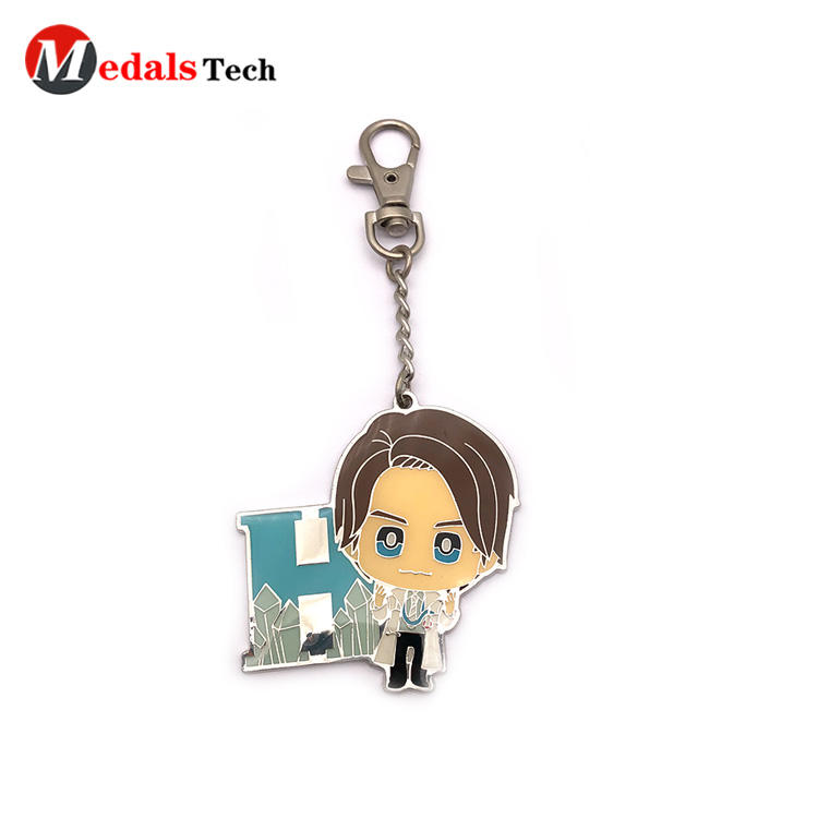 Medals Tech metal name keychains series for souvenir-3