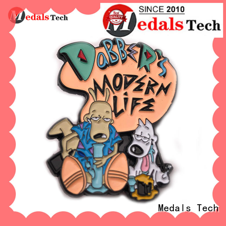 Medals Tech double quality lapel pins inquire now for man