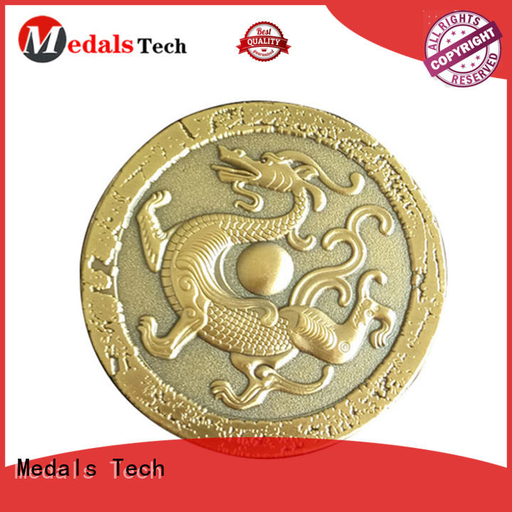 Medals Tech copper custom challenge coins factory price for add on sale