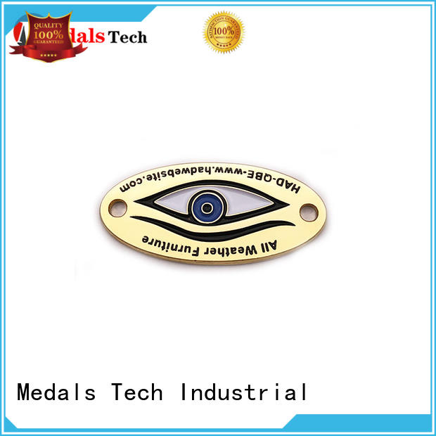 Medals Tech logo decorative name plate inquire now for add on sale