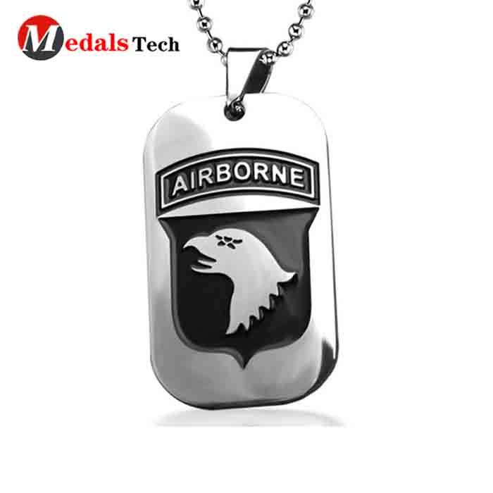 High quality custom epoxy coated sticker pets metal  dog tag-3