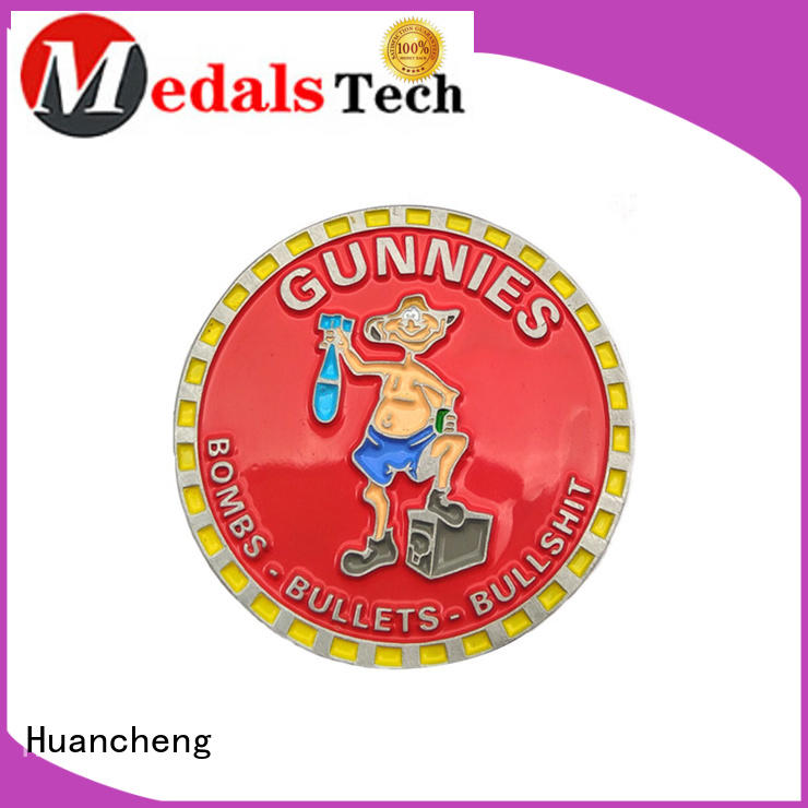 challenge coin size hard enamel challenge coin offset printing company