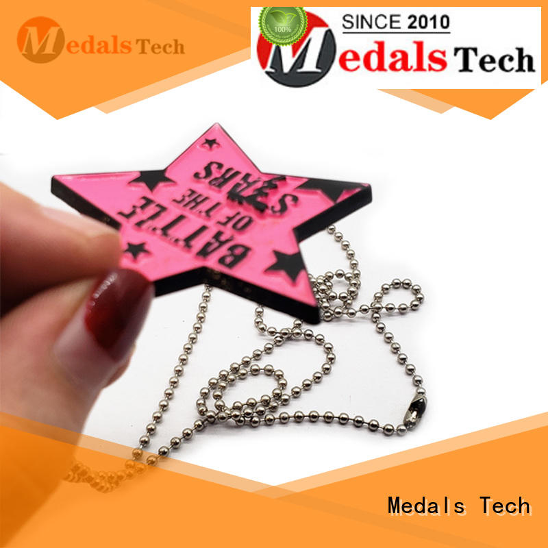 shinny engraved dog collar tags logo from China for boys