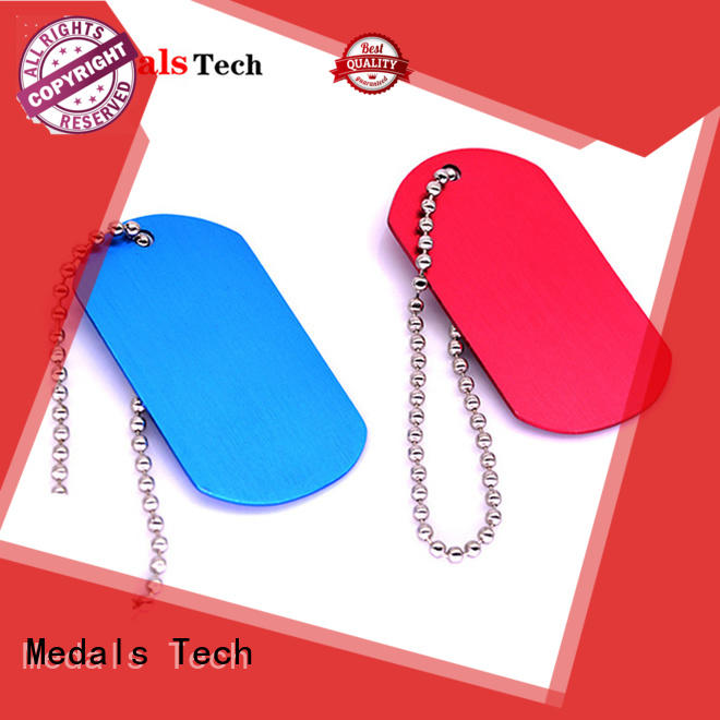 plating fancy dog id tags coated customized for add on sale