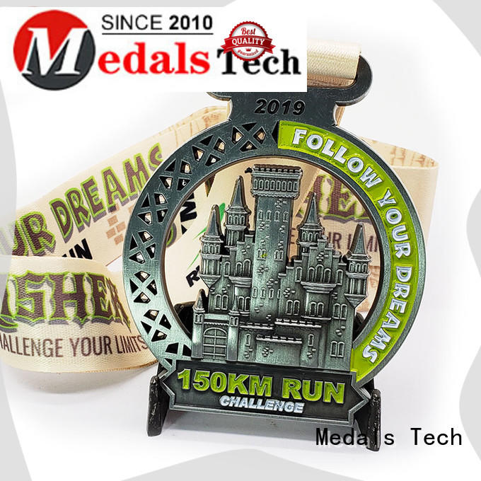 Medals Tech running best running medals factory price for souvenir