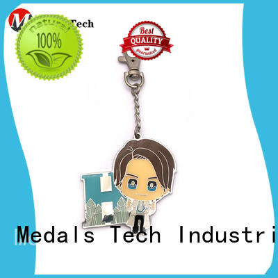 Medals Tech metal name keychains series for souvenir