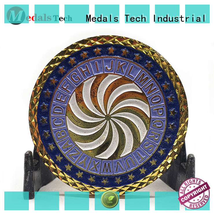 Medals Tech practical custom challenge coins supplier for kids