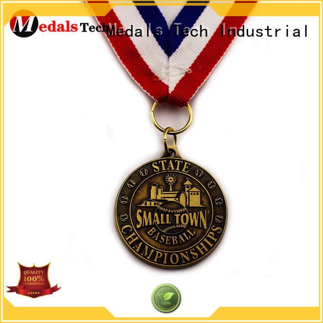 Medals Tech round custom race medals wholesale for commercial