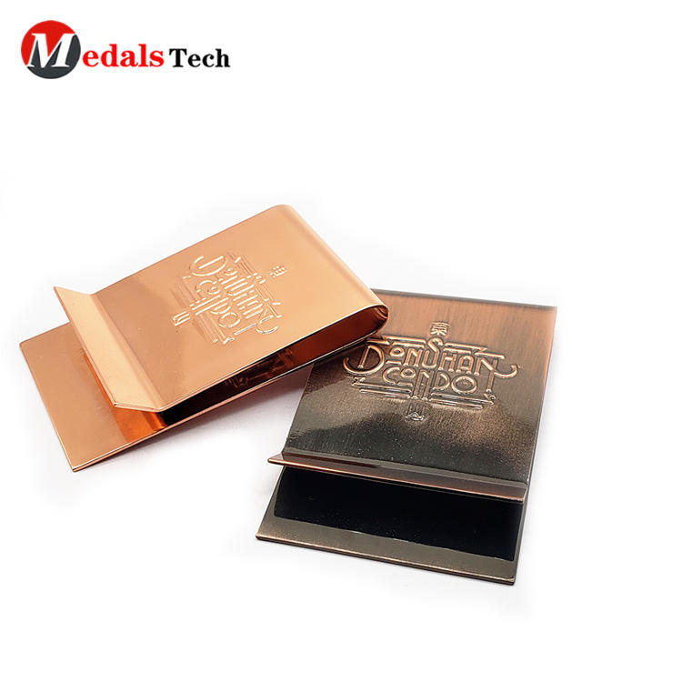 Medals Tech promotion wallet and money clip set with good price for adults-3