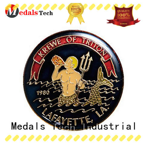 Medals Tech color veteran challenge coin wholesale for kids