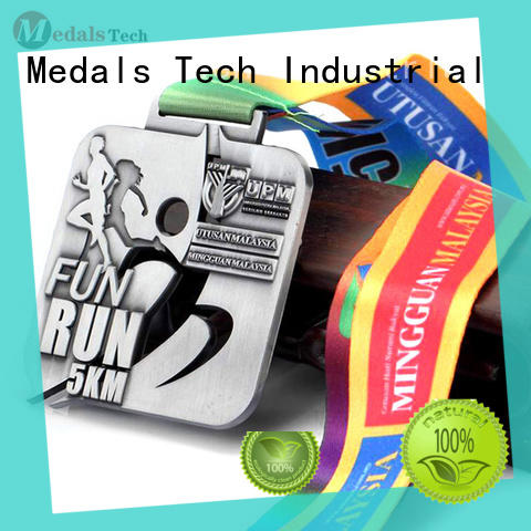 Medals Tech star cool running medals personalized for add on sale