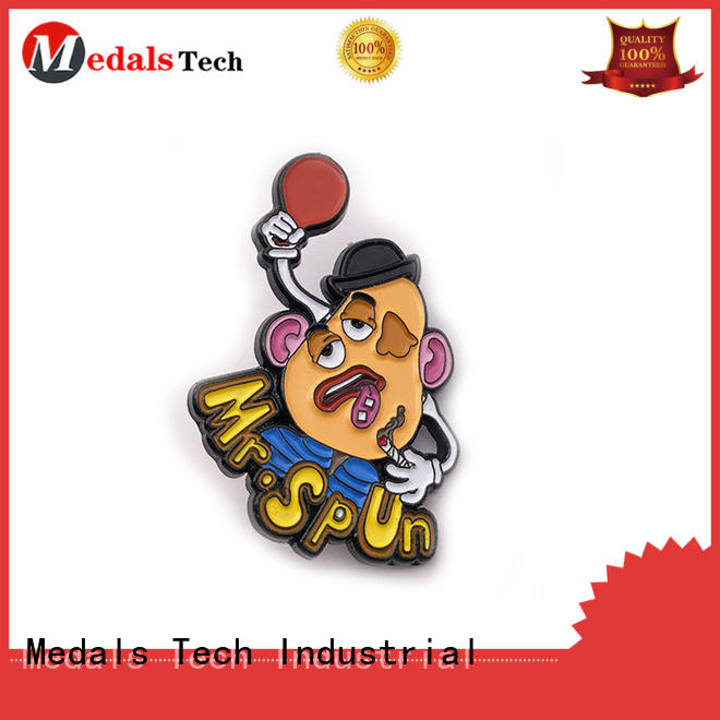 Medals Tech round custom lapel pins inquire now for man