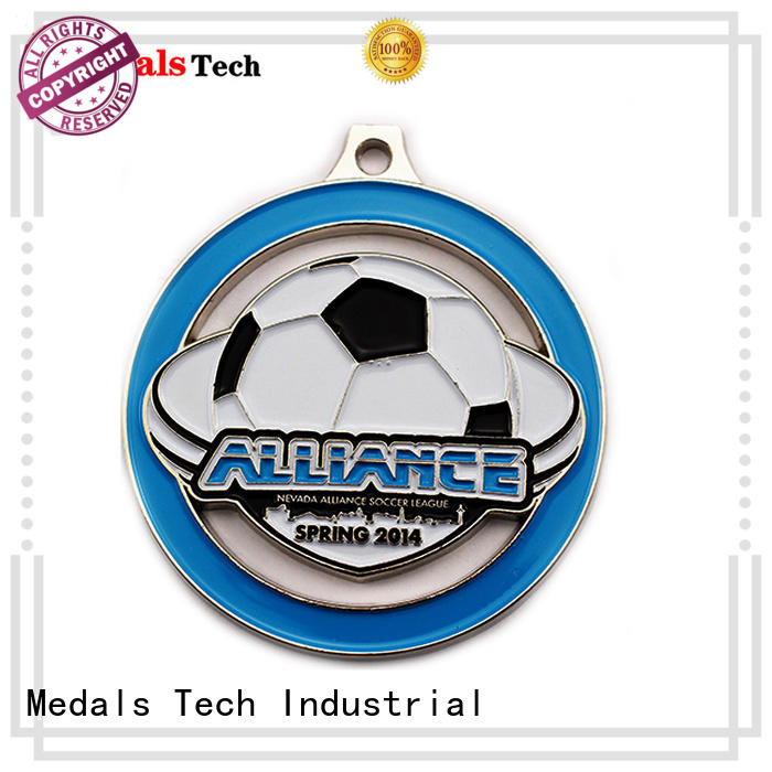 Medals Tech fashion silver medal wholesale for kids